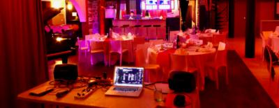 animation blind test pour soirée privée dîner 35 personnes, pour agence Agoraya