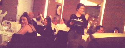 Animation blind test durant dîner pour BNP Paribas