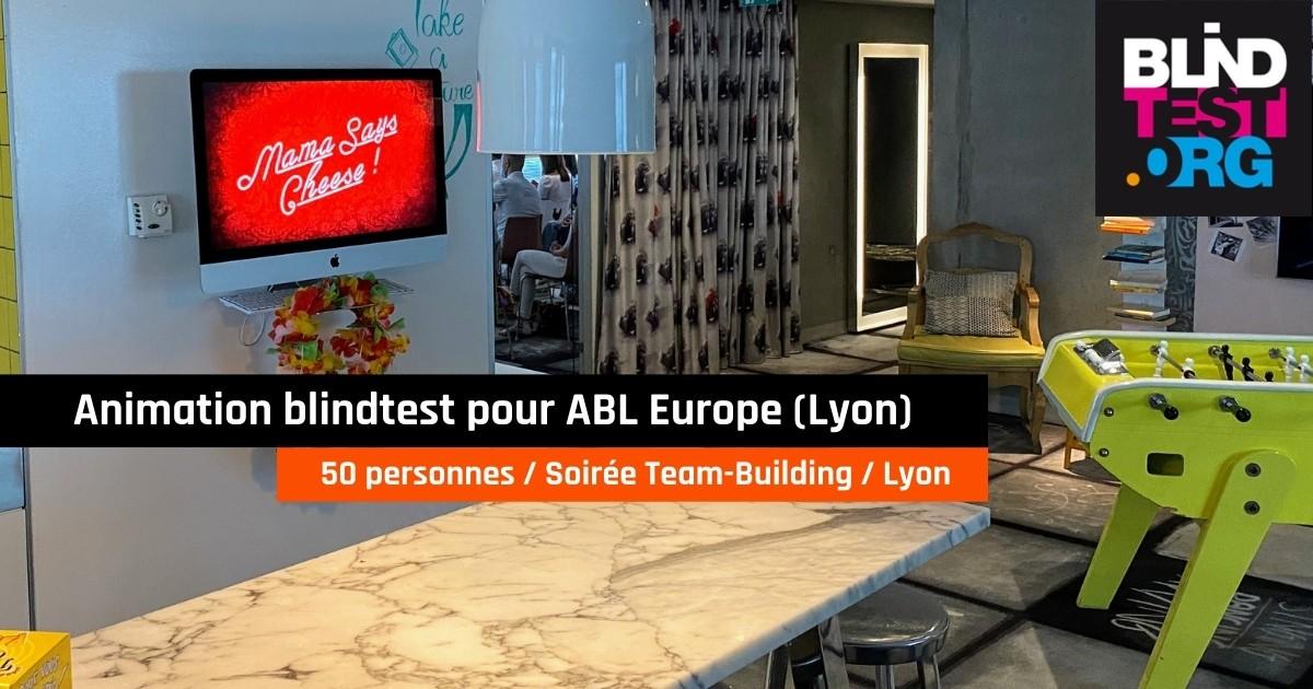 animation blindtest pour ABL Europe, Lyon